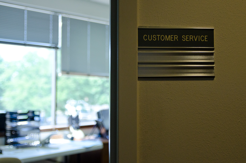 image of the Customer Service office of Preferred Title